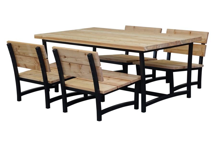 Low dining set Soli - Lenton